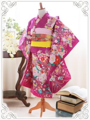 紫に花手毬